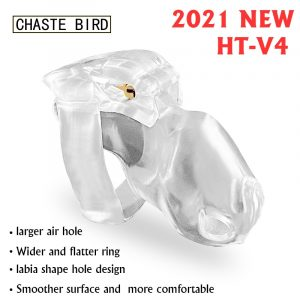 CHASTE BIRD Male Chastity Device HT-V4 Set Cock Cage