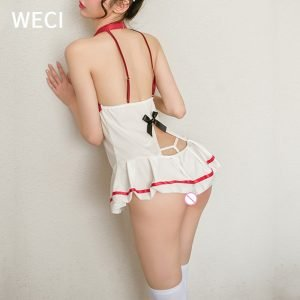 Sexy Nurse Cosplay Lingerie Uniform Set