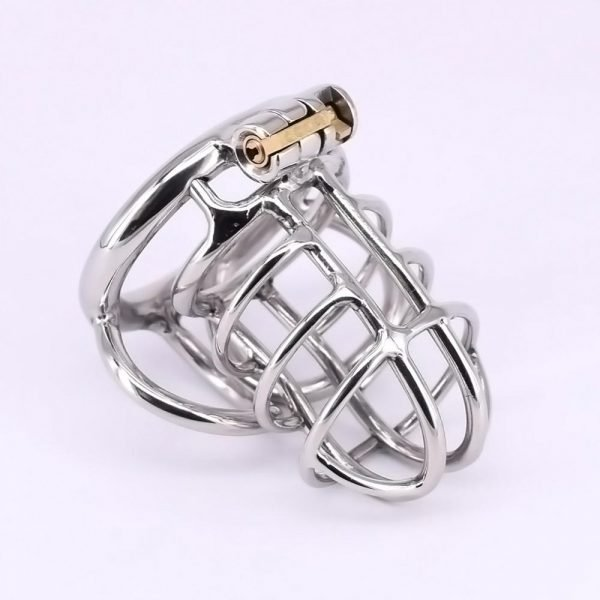 Male Cock Cage Stainless Steel Chastity Device