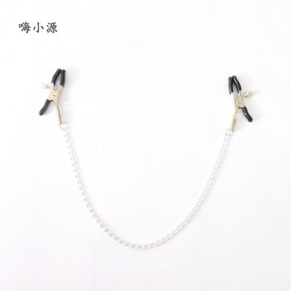 BDSM Nipple Clamps With Chain
