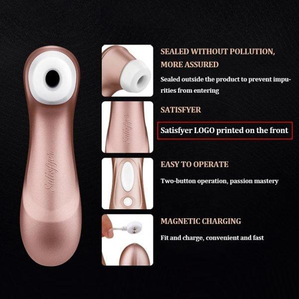 German Satisfyer Pro 2 Sucking Vibrators G spot Clit Stimulation
