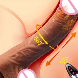 Heating Dildo Vibrators For Women With Remote Control