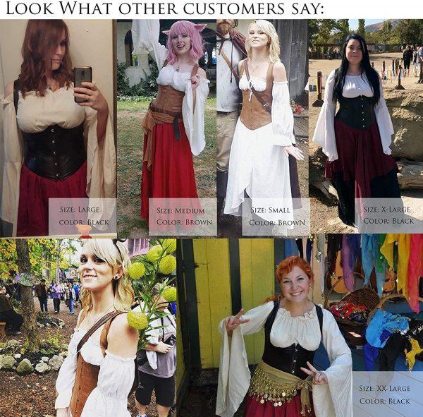 Overbust Corset Women Waist Cincher